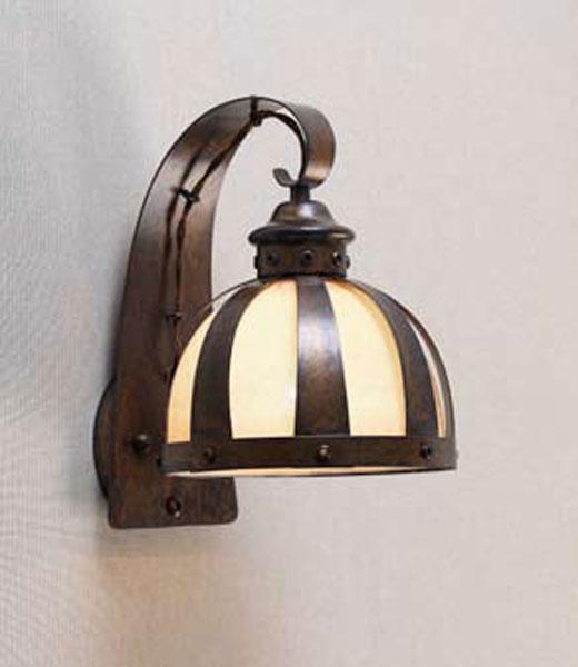 Aplique lampara para salones forja