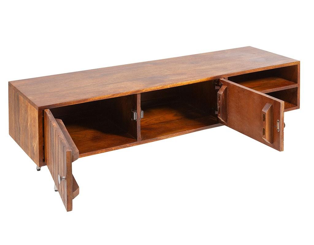 Mueble bajo TV estilo retro vintage